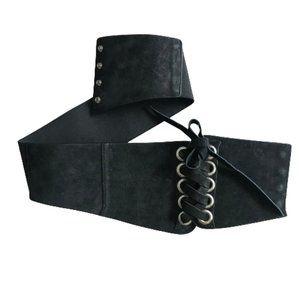 Le Chateau leather Corset Belt